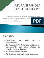 NEOCLASICISMO LITERARIO (PRESENTACIÓN)
