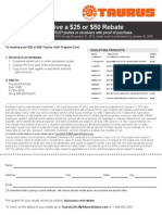 Taurus USA Rebate Form_FINAL_20150831