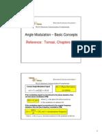 Angle Modulation and FM Intro