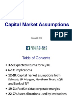 RBI Capital Market Assumptions
