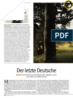 Botho Strauß - Der Letzte Deutsche