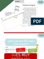 Clase 1 Comprendiendo La PSU de Lenguaje. La Importancia de Comprender El Texto e Inducción (Estandar Anual) (1)