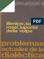 Problemas Actuales de La Dialéctica - VV.aa