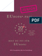 Edpol 2015 EUropa Pass JUNIOR 23.10.