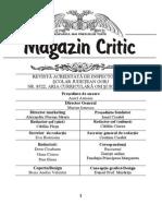 Magazin Critic 45
