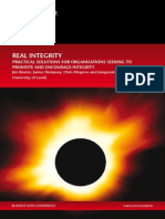 Real Integrity Full Report