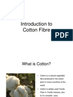 Introduction to Cotton Fibre