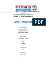 Leishmaniasis - Informe