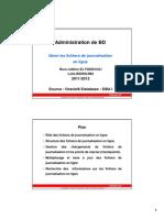 4 DBA Journalisation