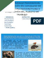 GUIA N° 5 DESORDENES MUSCULOESQUELETICOS...