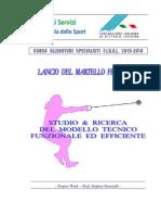 Project Work - Lancio Del Martello Femminile- Stefano Grosselle