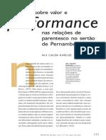MARQUES - Otas Sobre Valor e Performance Nas Relações de Parentesco No Sertão de Pernambuco