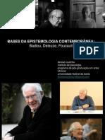 Bases da epistemologia contemporânea