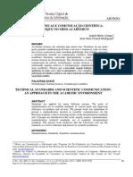Normas Técnicas e Comunicação Científica
