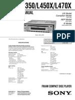 CDX-L350-L450X