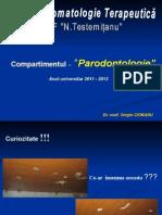 Afectiunile paradontului
