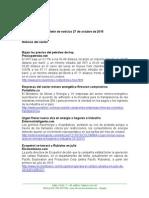 Boletín de Noticias KLR 27OCT2015