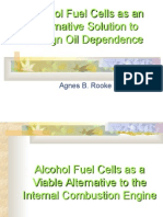 Alcohol Based Fuelcells Rooke