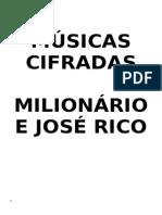 Milionário e José Rico cifras