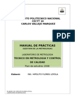 Manual de Gestion de La Metrologia