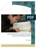 Student Testing in America's Great City Schools