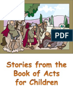 Stories From the Book of Acts for Children