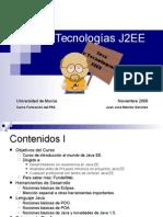 Curso Java y Tecnologías J2EE