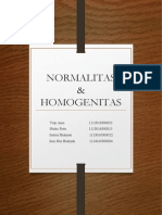 PPT Uji Normalitas Dan Homogenitas