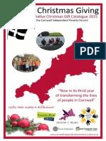 Cornish Christmas Giving Catalogue 2015