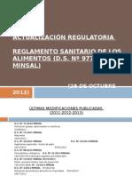 Actualización Regulatoria RSA 28 OCTUBRE TALCA (1)