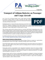 15DGBL02 - Transport of Lithium Batteries on Passenger and Cargo Aircraft.pdf