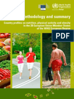 Country Profiles on Nutrition, Phisical Activity and Obesity 28 EU Member States