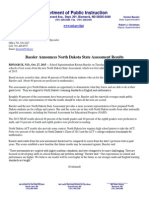 Press Release ND State Assessment Results Oct 27 2015 Print
