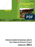 PDRB Kabupaten Merauke 2012