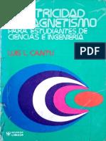Electricidad y Magnetismo Para Estudiantes de Ciencias e Ingenieria - Luis L. Cantu (1)