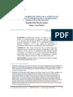 o Mito Da Soberania Popular - A Ausencia Da Participaçao Democratica No Processo Legislativo Brasileiro