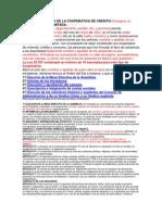 Acta Constitutiva de La Cooperativa de Credito Res. 1139 94 Inac