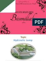 Hydraulic Jump