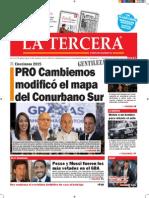 Diario La Tercera 27.10.2015