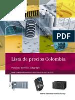 LP 15 JUNIO 2015 Productos Eléctricos Industriales