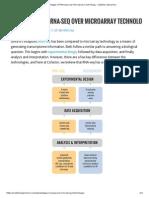 Advantages of RNA-seq Over Microarray Technology - Cofactor Genomics