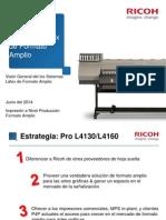 Ricoh Pro L4160 L4130 Sales Launch Presentation RLA v Final 27-06-2014 ES