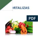 Hortalizas- Características fisicoquímicas