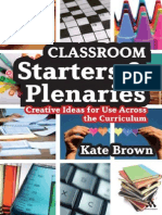 !!!!!!!Classroom Starters