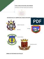 Símbolos de La Milicia Nacional Bolivariana