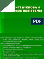 0bat Anti Mikroba & Mekanisme Resistensi-Aan