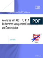 Accelerate With ATS - TPC 4.1.1 Performance Management Enhancements and Demonstration