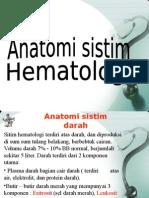 He3matologi anatomi fisiologi
