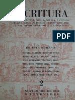 Escritura Nº2 1947