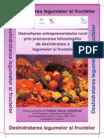 Tehnologii de Deshidratare a Legumelor Si Fructelor